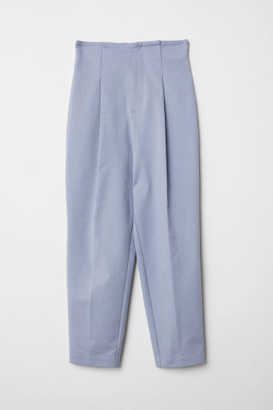 Ankle-length trousers - Light blue - Ladies | H&M