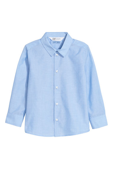 Easy-iron shirt - Light blue - Kids | H&M CN
