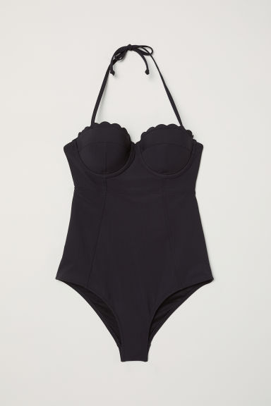 Shaping swimsuit - Black -  | H&M