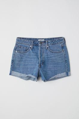 Korte Broek Dames Sweat.Dames Shorts Denim Shorts Sweatshorts En Meer H M Nl
