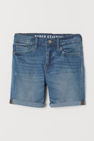 Short en jean Slim Fit