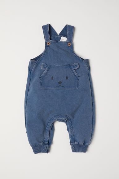 Dungarees - Blue/Washed out - Kids | H&M