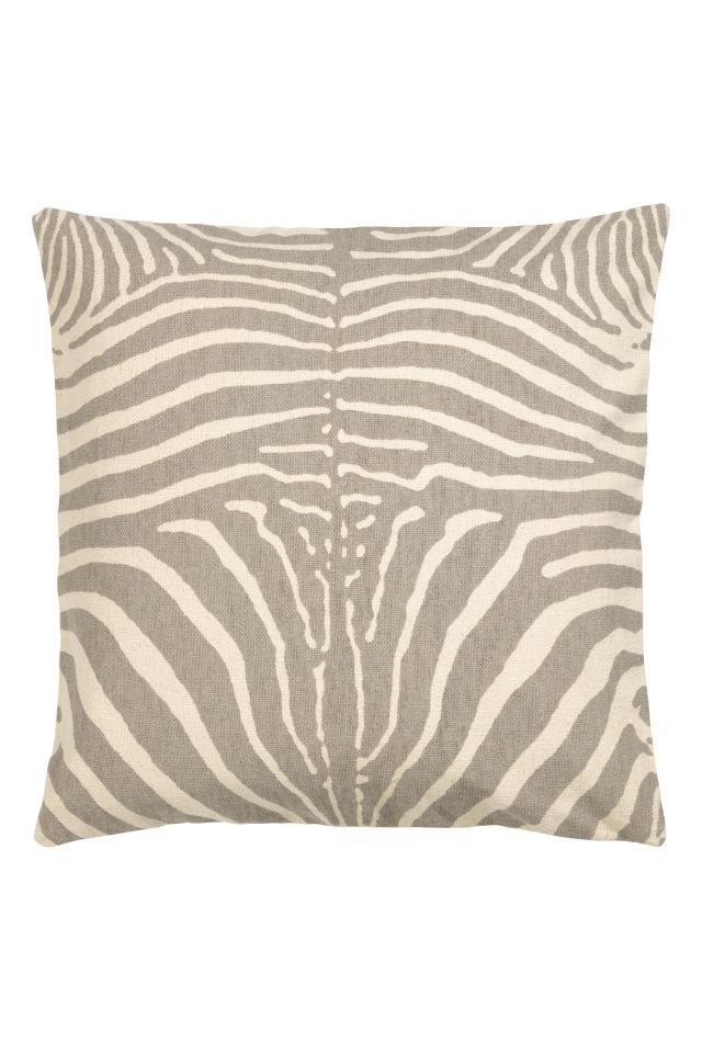 Zebra-print Cushion Cover - Mole Zebra print - Home All  0d13b586a