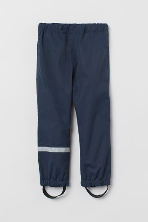 Waterproof shell trousers