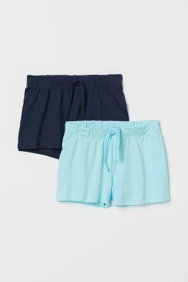 6b832bd73 2 pantalones cortos de punto