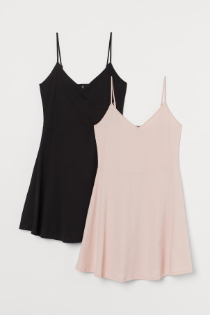 H&M+ 2-pack Jersey DressesModel