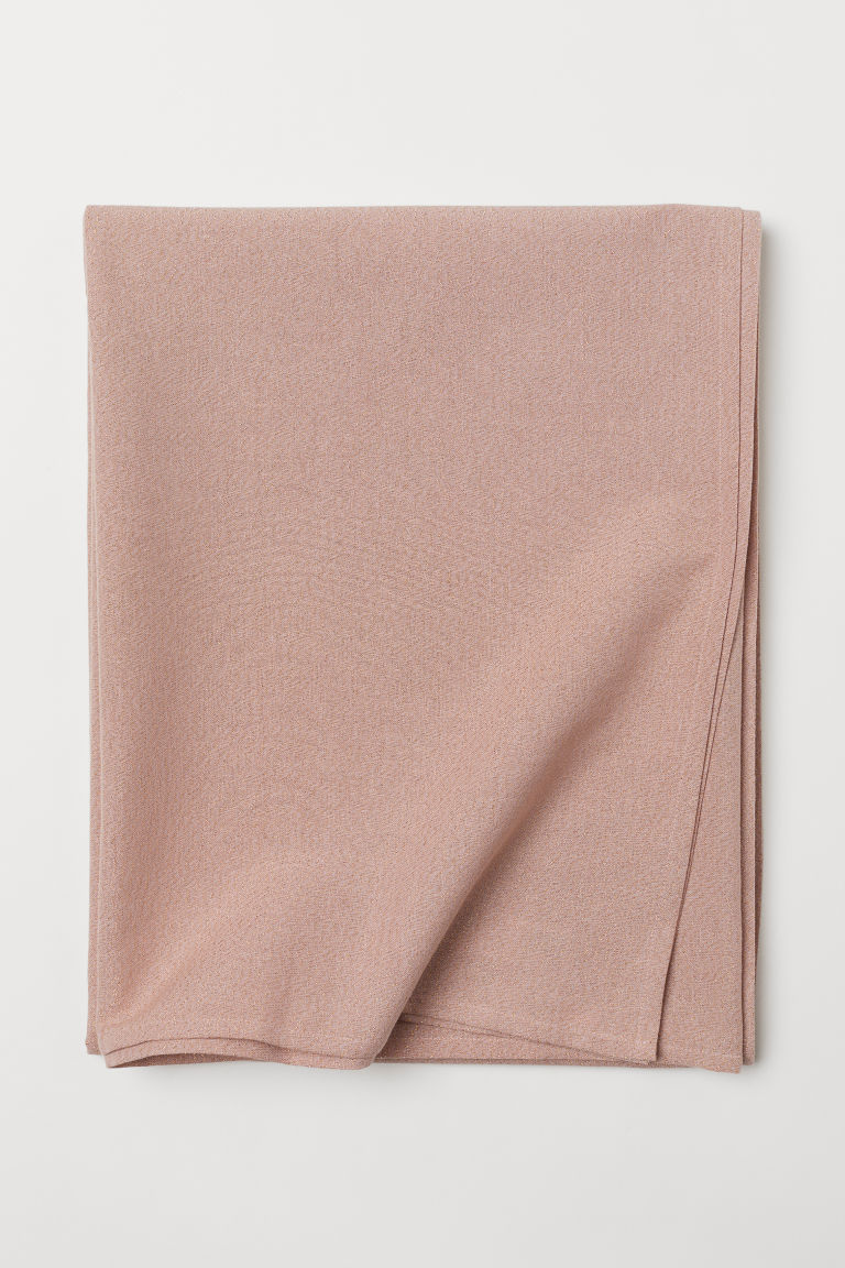 Glittery tablecloth - Powder pink/Glittery - Home All | H&M CN