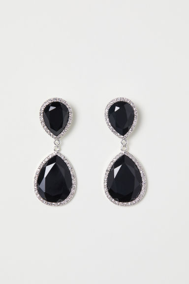 Earrings - Black - Ladies | H&M CN