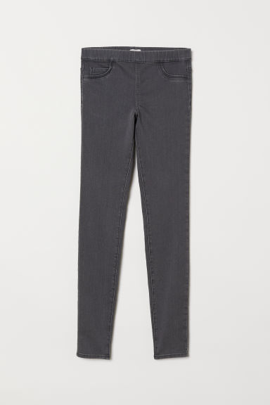 Superstretch treggings - Grey - Ladies | H&M