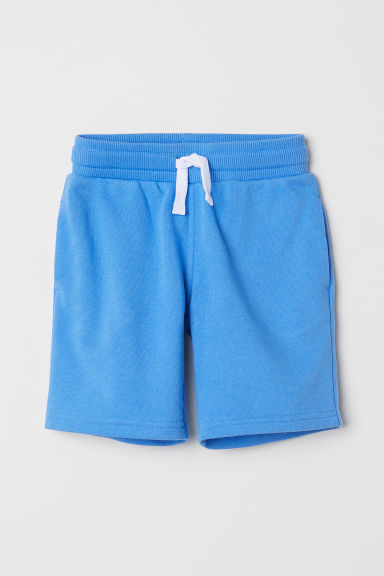 Sweatshirt shorts - Blue - Kids | H&M CN