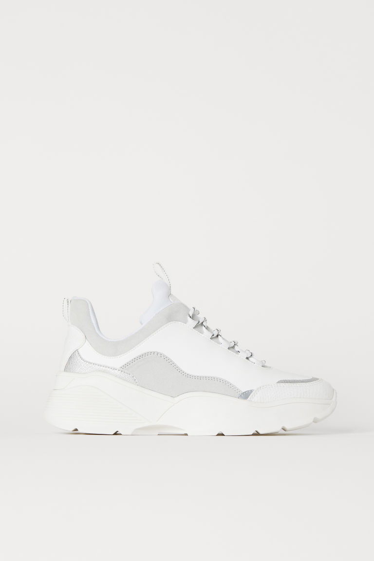 Trainers - White/Light grey - Ladies | H&M