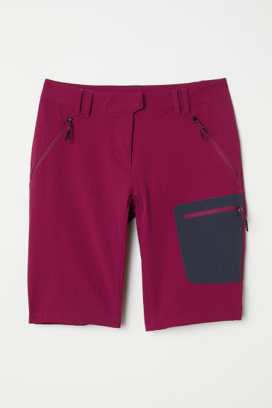Shorts da outdoor - Rosa scuro - DONNA | H&M IT