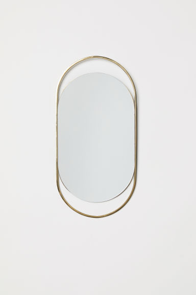 Oval Mirror - Gold-colored - Home All | H&M US