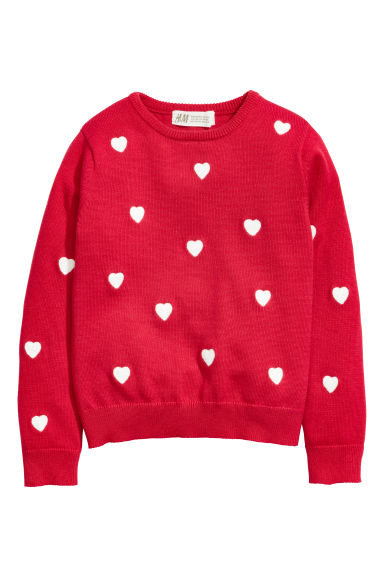 Top with hearts - Red/Hearts - Kids | H&M