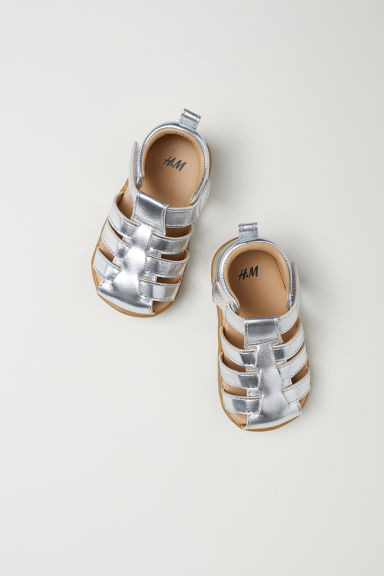 Sandals - Silver-coloured -  | H&M CN