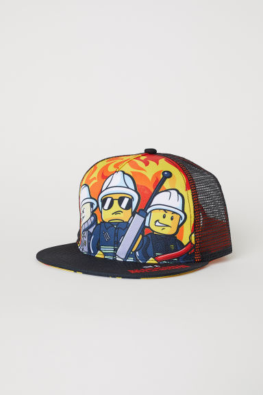 Cap with a motif - Red/LEGO - Kids | H&M CN