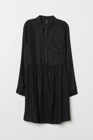 Viscose Dress - Black -  | H&M CA