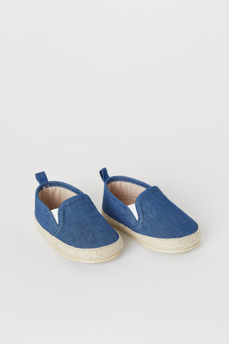 Espadrilles - Dark blue/chambray - Kids | H&M US