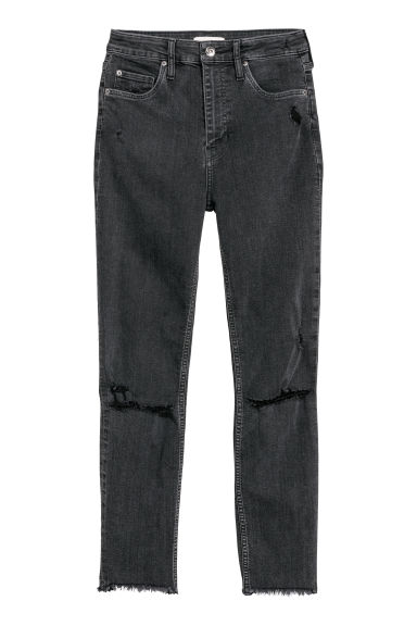 Skinny High Waist Jeans - Denim grigio scuro -  | H&M IT