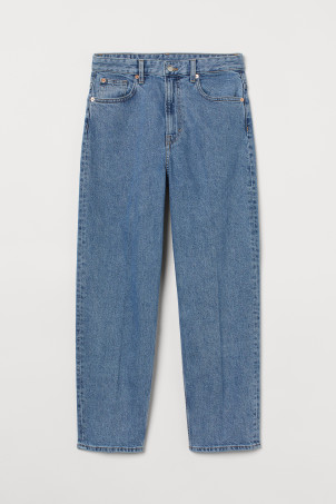 Relaxed Tapered High Jeans