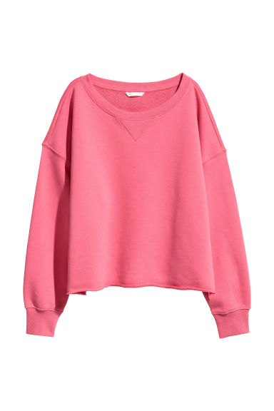 Sweatshirt - Raspberry pink - Ladies | H&M