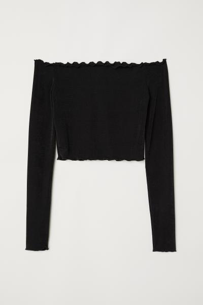 H&M - Top épaules dénudées - 1