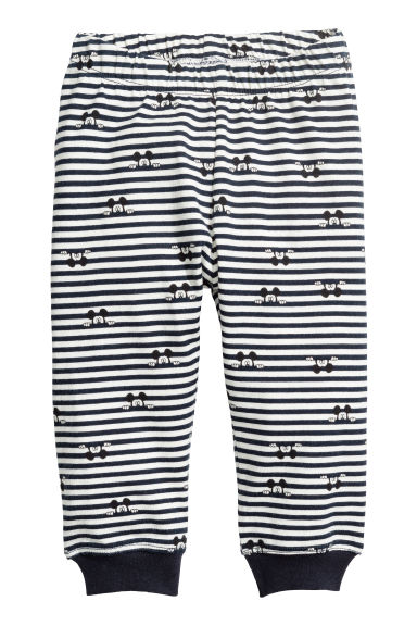 2-pack jersey pyjamas - Dark blue - Kids | H&M IE