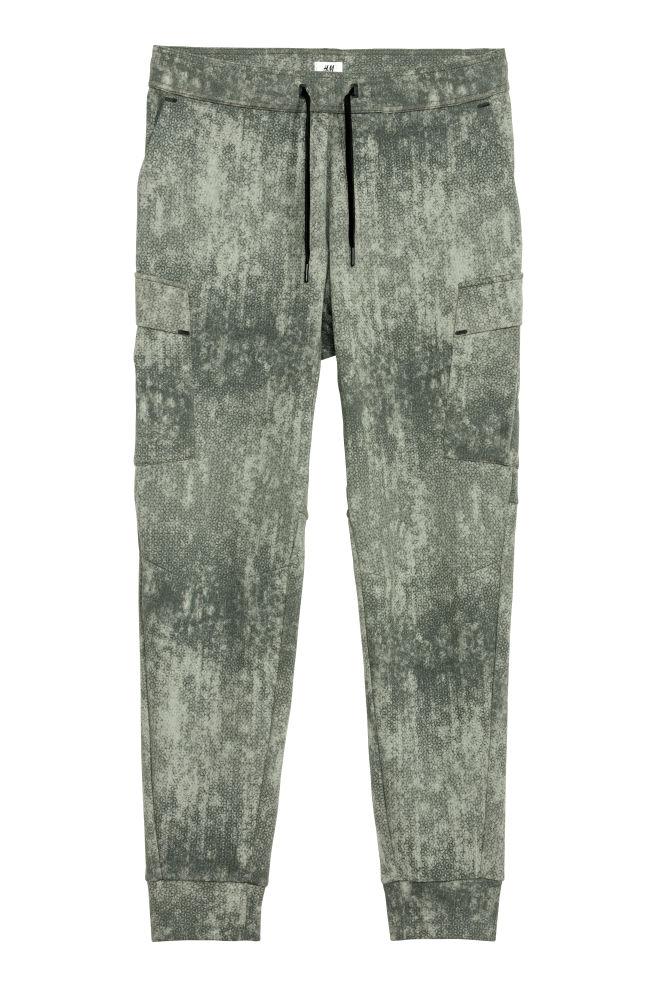 d5b08f033e Pantalón de deporte - Verde Estampado - HOMBRE