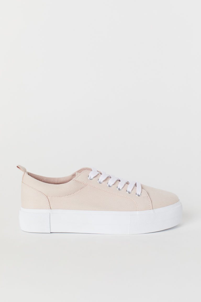 Platform Sneakers - Powder pink - Ladies | H&M CA