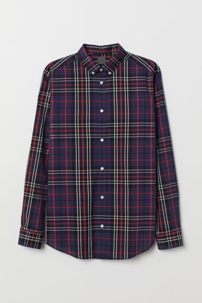 H&M - Camisa de cuadros Regular fit - 5