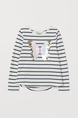 aa266590cd Girls Tops & T-shirts - 18 months - 10 years - Shop online | H&M US