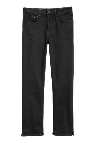 Slim Regular Ankle Jeans - Denim nero -  | H&M IT