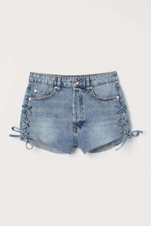Denim shorts High WaistModel