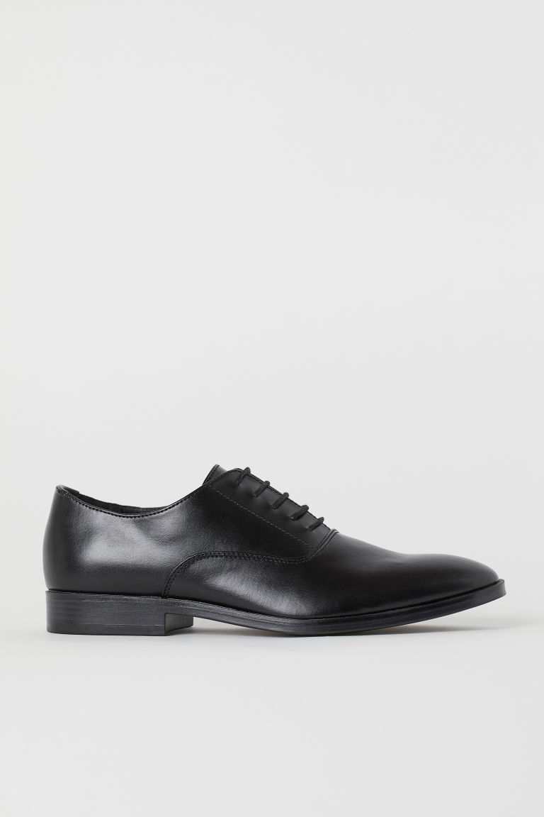 Oxford shoes - Black -  | H&M CN