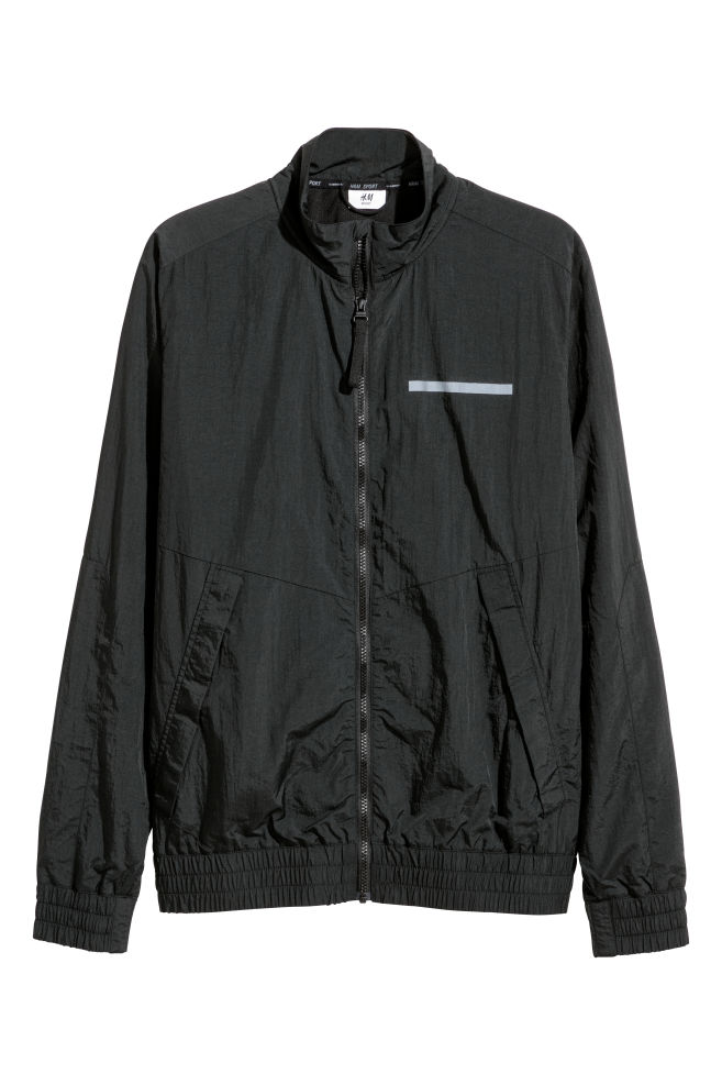 199d3d1d260 Nylon sports jacket - Black - Men