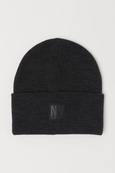 Ribbed hat - Dark grey - Kids | H&M
