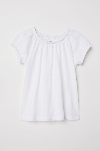 Tricot top - Wit -  | H&M BE