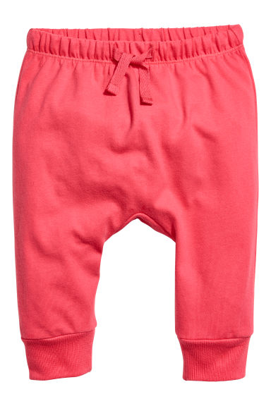 Jersey trousers - Coral - Kids | H&M