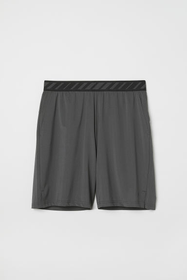 Short sports shorts - Dark grey - Men | H&M CN