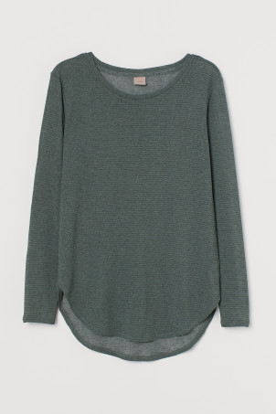 H&M+ Fine-knit Top