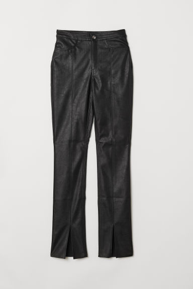 Pantaloni con spacchi - Nero -  | H&M IT