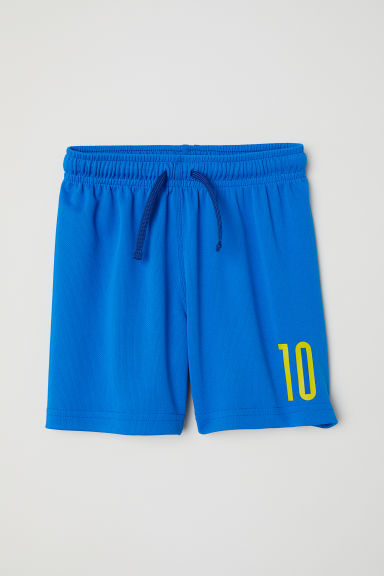 Football shorts - Blue/10 - Kids | H&M