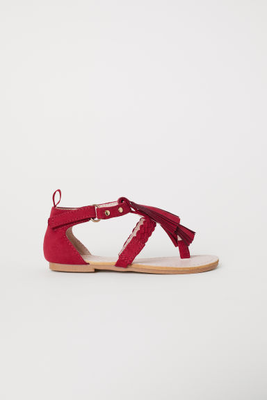Sandals - Red - Kids | H&M CN