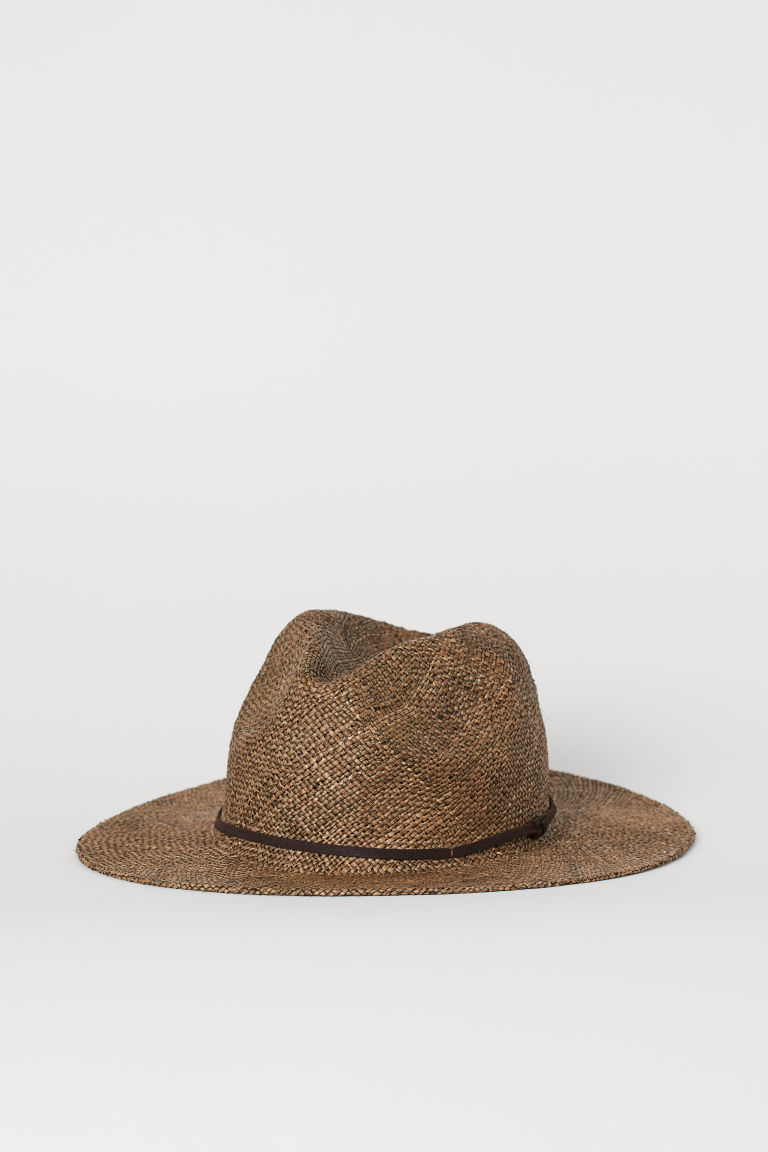 Straw Hat - Brown - Men | H&M CA