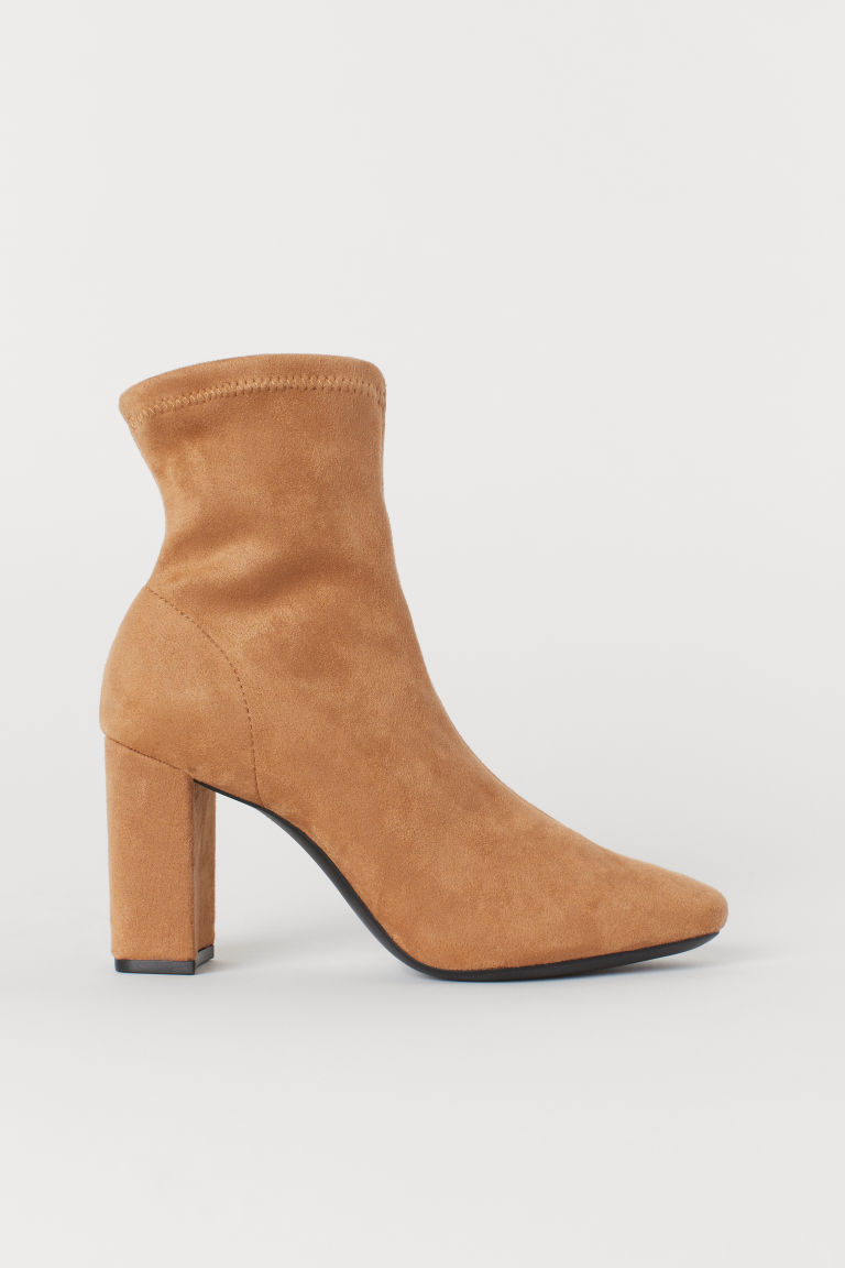 Sock boots - Beige - Ladies | H&M IE