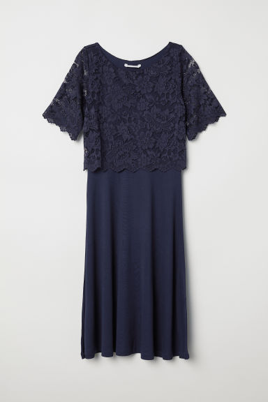MAMA Nursing dress - Dark blue - Ladies | H&M