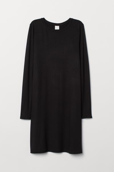 H&M - Robe côtelée - 1
