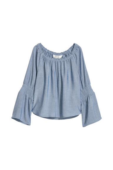 Top - Blue/Chambray - Kids | H&M CN