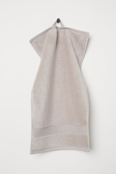 Cotton guest towel - Beige - Home All | H&M GB