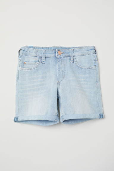 Denim shorts - Light blue - Kids | H&M